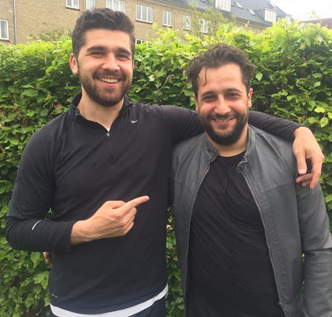 Servan og Ali - de to målscorer